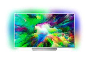 Телевизор Philips 55PUS7803/12 , 140 см, 3840x2160 UHD-4K , 55 inch, LED LCD , Да